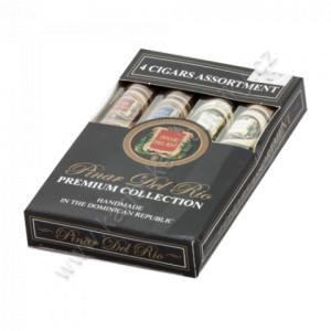 Pinar Del Rio premium collection 4 pack samplers Pack 4 Robusto